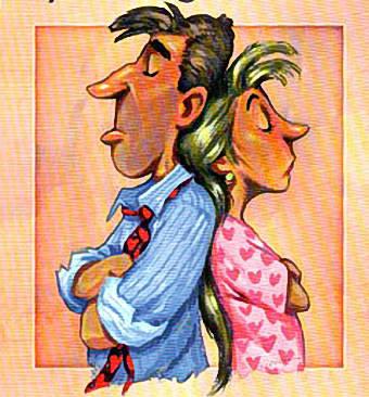 جنگ و دعوا طلاق